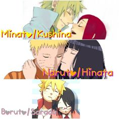 #MinaKushi #NaruHina #BoruSara