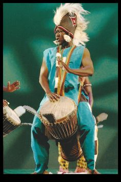 Mbemba Bangoura, who is revered worldwide for his impeccable skills, is a native of Guinea, West Africa.  He began drumming at an early age and later became master drummer for the Ballet National Djoliba.  Bangoura's credits also include his work with Les Ballet Africains and the Ballet of Conakry.  He first appeared at FADF in 2004 and has been a featured guest artist every since.  Don't miss his call of the drum June 12 - 14! All of the information awaits you at fadf.org.