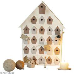 DIY Calendario de Adviento: Casita de pájaros