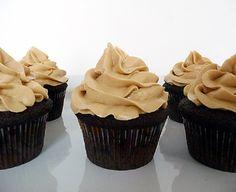 Dark Chocolate Cupcakes #dessert #dessertrecipe #sweet