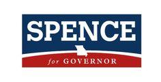 Dave Spence. Logo Design. Harris Media. Republican. Politics.