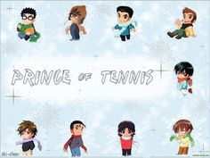 Аниме обои The Prince of Tennis / Принц тенниса [ТВ] 38563