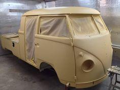T1 VW Bus double cab,pick up (restoration)