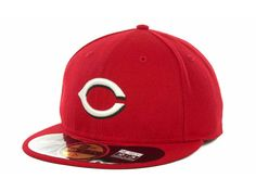 Cincinnati Reds New Era MLB Authentic Collection 59FIFTY Cap Hats 59fifty  Hats 8974a95ece86