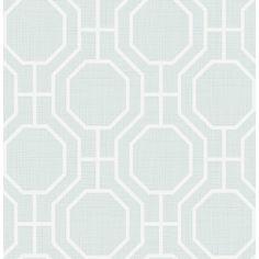 "Found it at Wayfair - Symetrie Circuit Modern Ironwork 33' x 20.5"" Geometric Wallpaper"