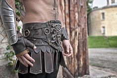 ARM PROTECTION - Steel Armor Bracer Gladiator-Single