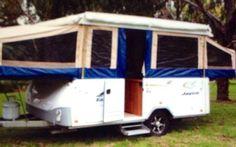 Caravan Hire - 2010 Jayco Dove Pop-top $100 per day 4/6 berth (VIC/Melb SE) Caravan and Camping Hire Aus