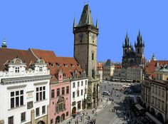 Praha Old Town Hall (Staroměstská radnice). Czech Republic