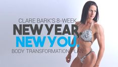 Clare Bark's Body Transformation Plan: Lower Body Workout B Insanity Workout, Best Cardio Workout, Workout Fitness, Workouts, 8 Week Body Transformation, Overhead Tricep Extension, Steady State Cardio, Muscle Fitness, Going To The Gym