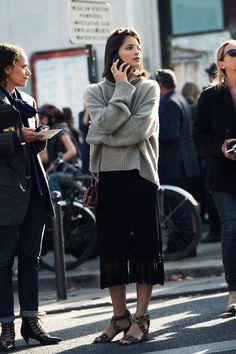#street #style #fashion MARIA DUEÑAS JACOBS