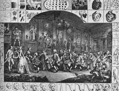 Уильям Хогарт Танец (гравюра) 1753 г.