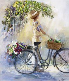 WH123 the bicycle – Thread pack   Di van Niekerk