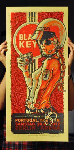 pinterest.com/fra411 #illustration - Black Keys...