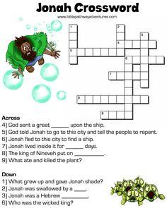 Jonah Crossword - free download!