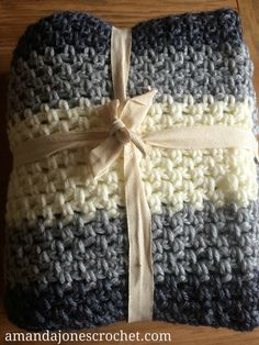 Crochet How to - Weaving in ends No 1