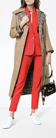STELLA MCCARTNEY Wool Collarless blazer, explore new season now on Farfetch.