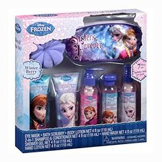 Disney Frozen Sisters Forever Royal Spa 7-Piece Bath Set