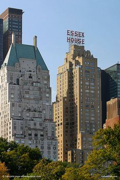 Essex House from Crentral Park - Midtown West, New York by New York Habitat, via Flickr