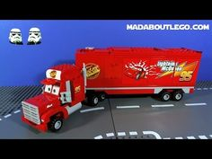 Mack and Lightning McQueen and friends are going for a road trip when disaster strikes! Includes classic Lightning McQueen and Mack Team Truck with opening t. Lego Disney, Disney Pixar Cars, Tow Mater, Mack Trucks, Lightning Mcqueen, Food Ideas, Gym, Christmas, Houses