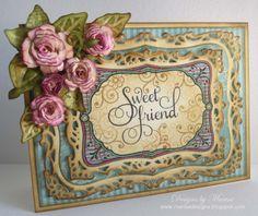 spellbinder's Resplendent Rectangle die   Designs by Marisa: JustRite Papercraft September Release - Sweet ...
