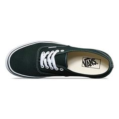 b8fd7071bb9760 Vans Authentic Unisex Scarab Dark Green True White Skateboarding Shoes   Amazon.ca  Shoes