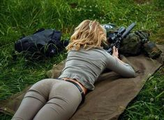 Shooting prone