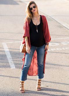 71aa8f6aba3 Cómo llevar un kimono (muy) largo
