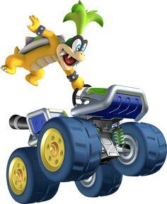 Iggy Mario Kart 8
