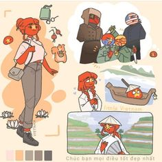 Hetalia, South Vietnam, Country Art, Countries Of The World, Anime Love, Cute Drawings, Best Friends, Character Design, Video