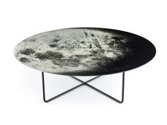 My Moon My Mirror Table, by Diesel with Moroso, is your own personal piece of the night sky in the centre of your room.