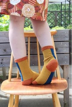 The country of socks pattern by Miss Wrap 'n' Turn