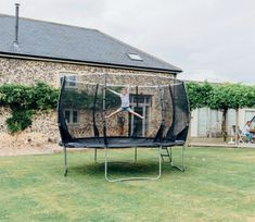 Such a fun way to develop a child's co-ordination, strength and balance, this Magnitude 12ft Trampoline from Plum Products is substantially made and very safe.
