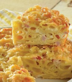 """Para los peques: """"Pastel de pasta de coditos al horno"""""""