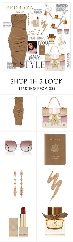 """Chic  & Beautiful"" by kercey ❤ liked on Polyvore featuring Lanvin, Giancarlo Petriglia, Fendi, Royce Leather, Fernando Jorge, Urban Decay, Burberry and Aquazzura"
