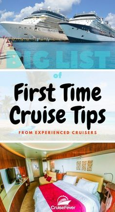 Going on your first cruise? Here are some first time cruise tips that you will want to read and remember before you set sail on your amazing cruise vacation. Got some first time cruise tips to add? Leave a comment and share the wealth. We asked our fa