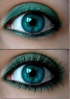 teal eyes by margaret