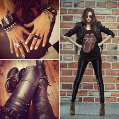 Outfit inspiration! Rock 'n Roll style