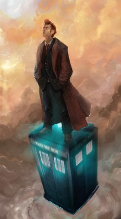 deviantart, tardi, tenth doctor fanart, boxes, doctor who, cloud, doctors, david tennant, doctor rememb