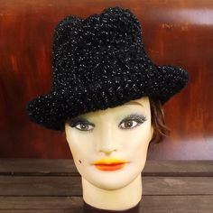 ANDY Women Fedora Hat  Crochet Hat with Brim  by strawberrycouture, $50.00