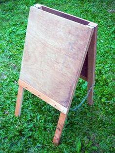 Mon Petit Poppet: Mon Espace Créateur - Le Chevalet D'enfant Facile - { My Creative Space - Easy Child's Easel }