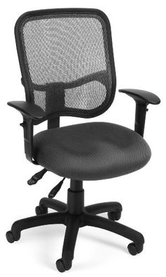 OFM 130AA3A01 Mesh Comfort Series Ergonomic Task Chair with Arms >>> You can find more details by visiting the image link.Note:It is affiliate link to Amazon.