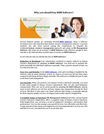 Human Resource Management Software: its multiple benefits Hr Management, Resource Management, Life Cycles, Human Resources, Software