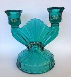 Depression Glass Jeannette Swirl Ultramarine Drinking Glass Tumbler