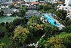 Amazing Feature of Hotel Borobudur : Hotel Borobudur Top View