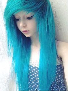 Awesome blur hair