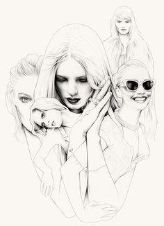 Creative Illustrations by Ricardo Fumanal