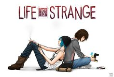 """Pricefield (Life is Strange) by Trixdraws - """"My powers might not last, Chloe."""" """"That's ok. We will. Forever."""""""