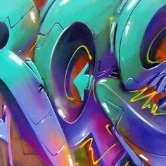 Some letters #rasko #graffiti #art #best #amazing #street #spray ...