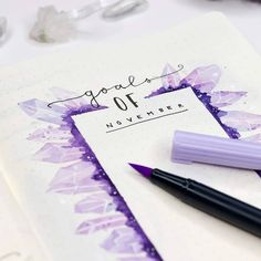 This is such an amazing idea for the bullet journal! Can't wait to try this idea in my own planner! Bullet Journal 2019, Bullet Journal Inspo, Bullet Journal Layout, Bullet Journal Ideas Pages, Bullet Journals, Disneyland Paris, Journal Inspiration, Bullet Journal Calendrier, Setting Goals