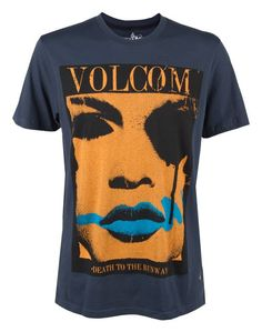 VOLCOM DEATH TO THE RUNWAY TEE - $25.00